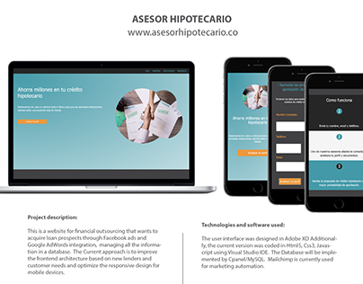 Asesor hipotecario Website
