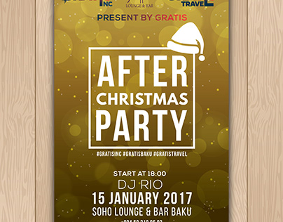 After Christmas Party ( Poster )