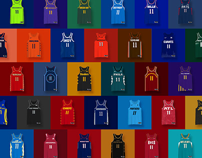 NFL Basketball Jersey Concepts