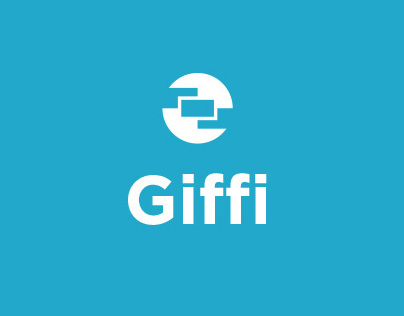 Giffi gif maker application UI design