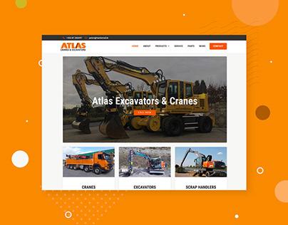 Atlas Cranes & Excavators - 2017