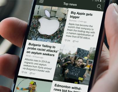 News Reader for iOS 8