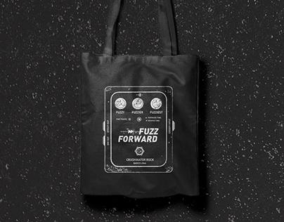 Fuzz forward logo & merch for stoner rock band