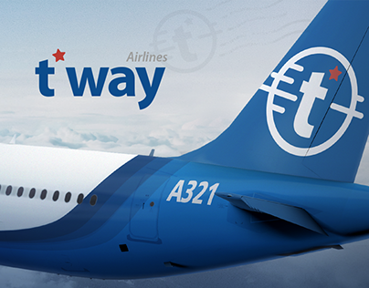 t'way Airlines Concept Rebranding