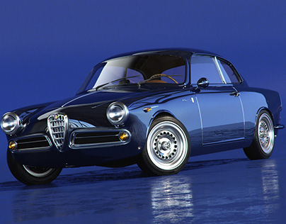 Automotive Scan 1959 Alfa Romeo Giulietta Sprint