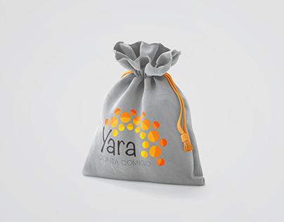 Yara - logo, signature and flyer