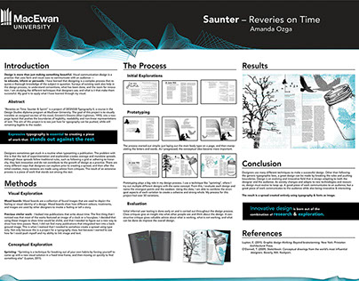 Saunter: reveries on time.