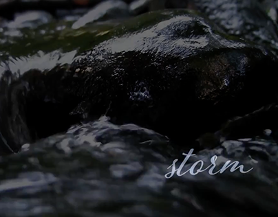 Storm: A 6 x 10 non-narrative video sequence