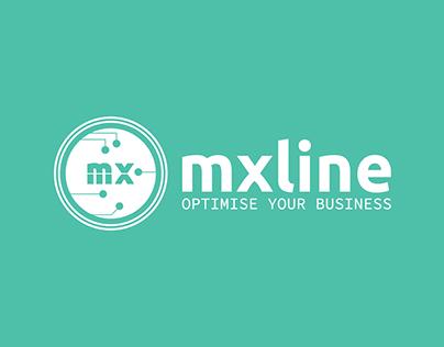 mxline logo & rebranding