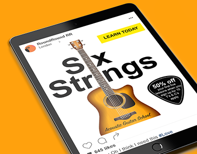 Six Strings Banner Ad