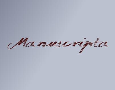 Manuscripta (Free Font) New 2015