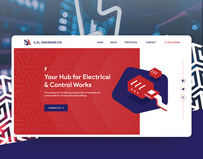 IL. EL. Engineering Ltd - Website Design