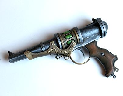 3d printed steampunk gun