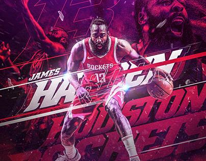 NBA Art | Fear The Beard Project