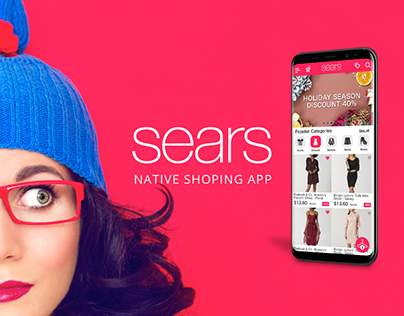 Sears app redesign
