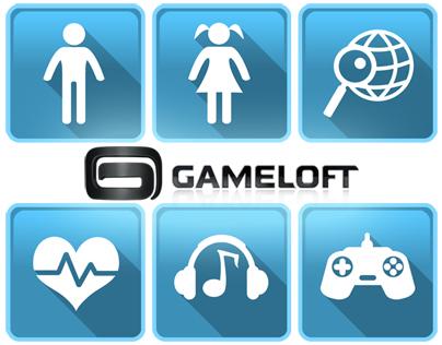 Gameloft Marketing Survey Icons