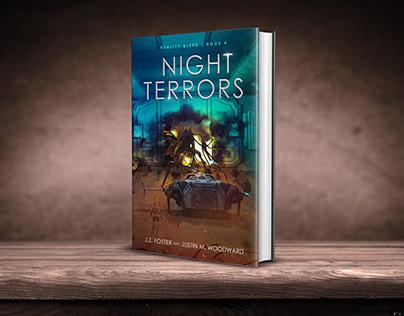 Night Terrors book cover design