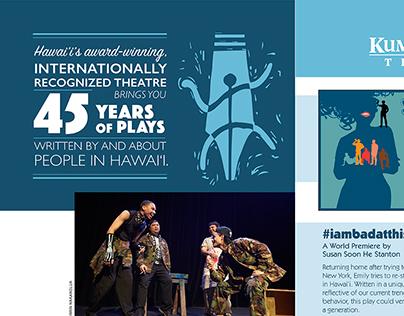Kumu Kahua Theatre Print Ads