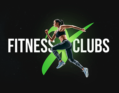 Landing page Fitness Clubs