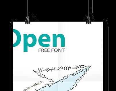 Poster | Open Sans