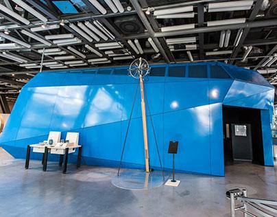 Centrum Nauki Kopernik - exhibition pavilion