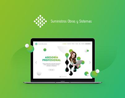 Suministros Obras y Sistemas (Web Design)