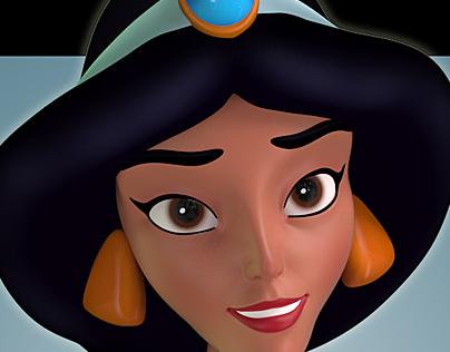 Jasmine, Disney's Aladdin