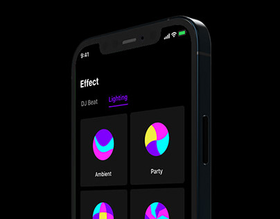Samsung Party Audio Mobile App Design
