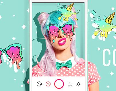 BeautyPlus Facebook Ad