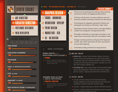 Interactive PDF Resume