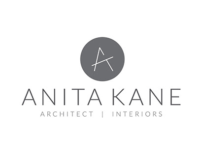 Brand identity for an architect