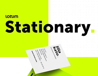 Stationary Corporate Design