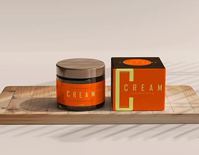 CREAM — logo and packaging design