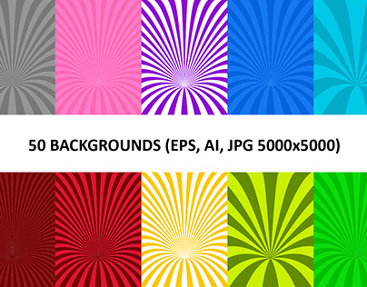 50 Curved Backgrounds