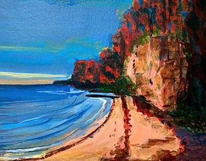 Cliffs at the Beach