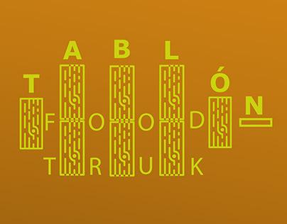 Branding Tablón Food Truk