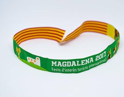 Ganadora del diseño de la pulsera de la Magdalena 2017