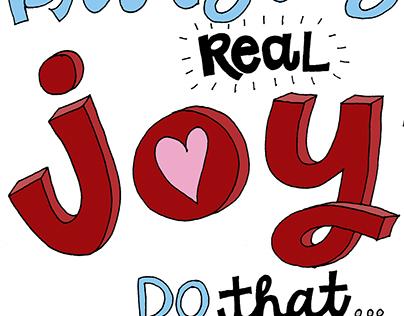 what brings you joy?