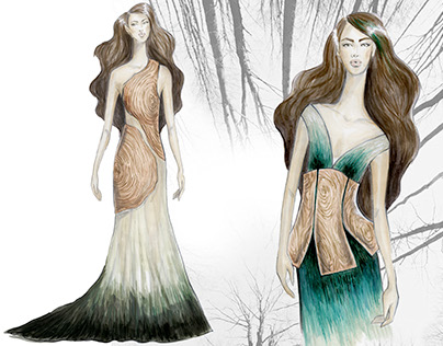 Deforestation Couture Collection