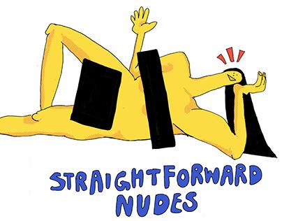 STRAIGHTFORWARD NUDES (a zine)