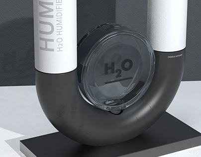 RENDERING PRACTICE 001 - H2O HUMIDIFIER