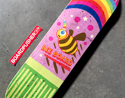 Boardpusher Skateboard Design