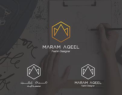 Fashion design logo - Maram Aqeel