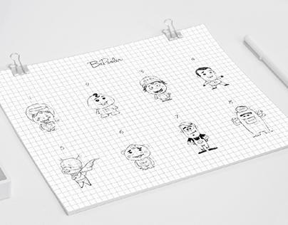BePooler | Mascot design