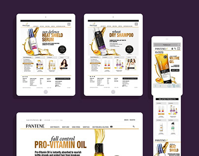 Pantene & MaxFactor Mobile, Emails.