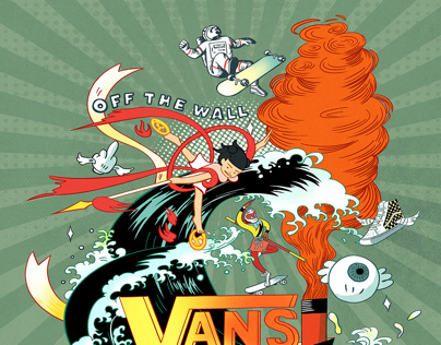 Vans illustration