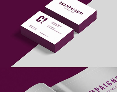 """My New Work- """"Champaigns brand"""""""