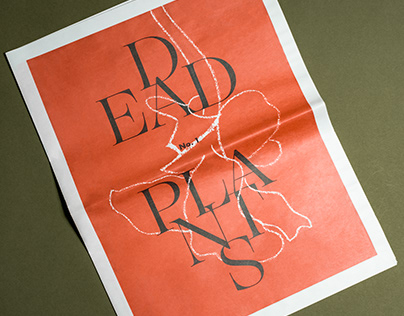 Dead Plants Zine - Adobe Live Editorial Design