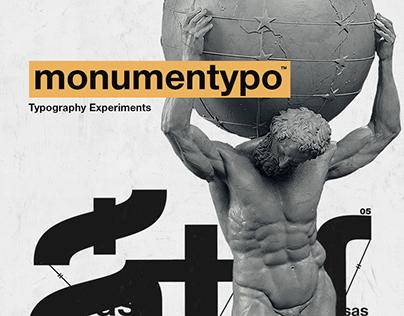 Monumentypo — Typography Experiments
