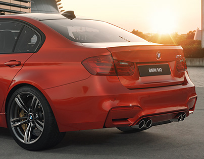 BMW M3 Sakhir Orange | CGI